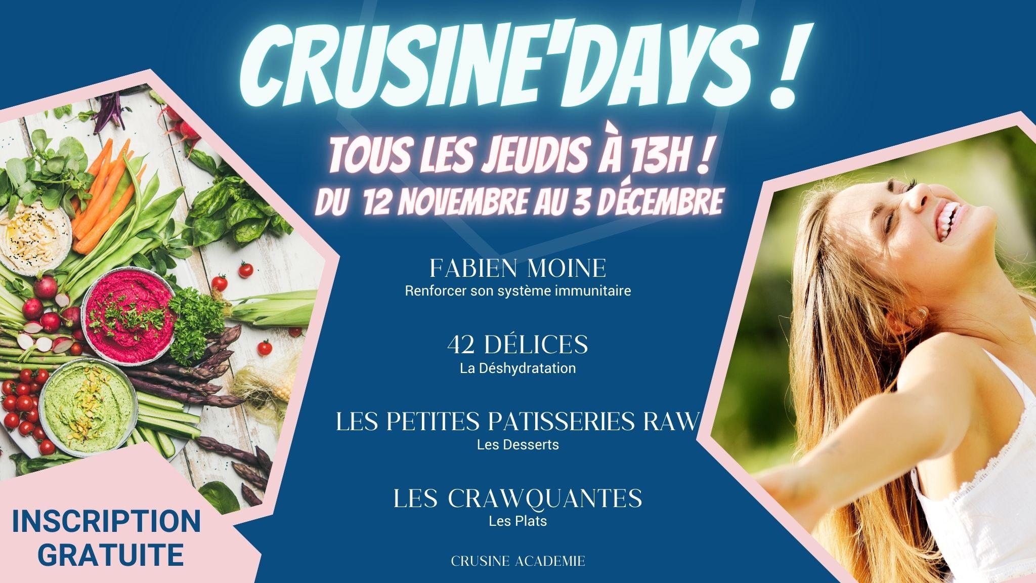 Crusine Days